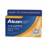 Контактные линзы Air Optix Night and Day Aqua