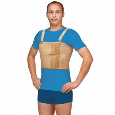 Бандаж фиксирующий по линии груди мужской Польза (0117)